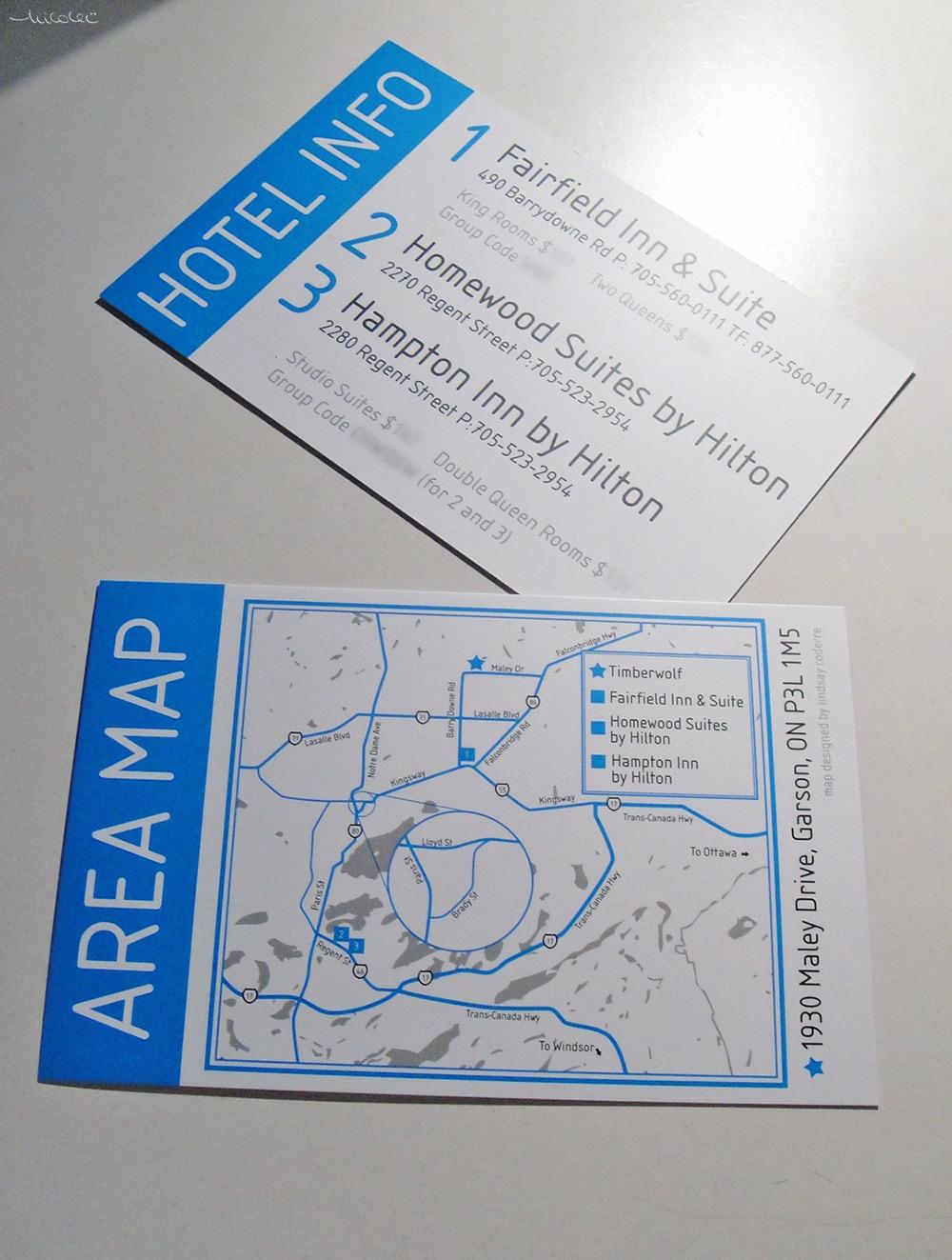 Map-Hotel Card